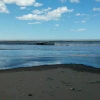 Photo taken at Playa de San Clemente del Tuyú by Lucas A. on 9/22/2012