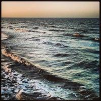 Photo taken at Playa de San Clemente del Tuyú by Lucas A. on 8/18/2013