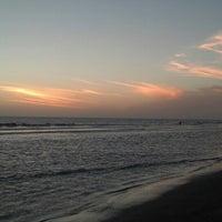 Photo taken at Playa Norte by Lucas A. on 1/15/2014
