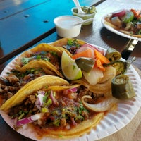 Photo taken at La Penca Azul Taco Truck by Jill N. on 8/16/2016