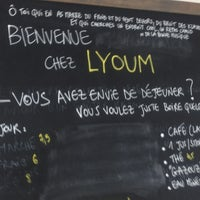 Photo taken at LYOUM by Mylène B. on 2/2/2013
