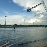 Photo taken at Camsur Watersports Complex (CWC) by Lovely on 5/19/2013