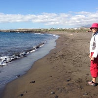 Photo taken at Playa del Confital by Daniel G. on 1/1/2014