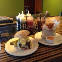 Photo taken at Bobby's Burger Palace by David M. on 12/21/2013