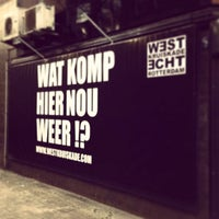 Photo taken at West-Kruiskade by Robbert R. on 3/18/2014