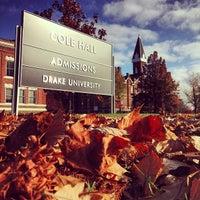 Photo taken at Drake University by Oliver H. on 10/26/2012