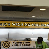 Photo taken at Which Wich? Superior Sandwiches by Stephen A. on 2/18/2013