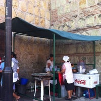 Photo taken at Tacos de Chorizo del Carmen Alto by José C. on 5/4/2013
