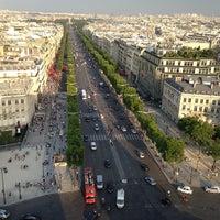 Photo taken at Avenue des Champs-Élysées by Dmitry T. on 7/16/2013