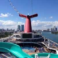 Photo taken at Carnival Victory by William G. on 10/14/2013