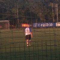 Photo taken at Centro Sportivo CIMIANO by Giovanni P. on 6/10/2014