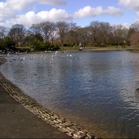 Photo taken at Leazes Park by DJ :. on 3/21/2013