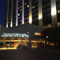 Photo taken at Sheraton Buenos Aires Hotel & Convention Center by Gustavo N. on 11/17/2012