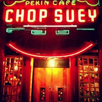 Photo taken at Chop Suey Pekin Cafe by Sonia G. on 1/6/2013