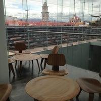 Photo taken at Museo Amparo by Moo N. on 6/21/2013