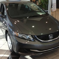 ... Photo Taken At Crown Honda Greensboro By Chami H. On 12/1/2012 ...