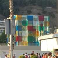 Foto tomada en Centre Pompidou Málaga por Pedro V. el 6/18/2017