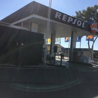 Photo taken at Gasolinera Repsol La Cala by Pedro V. on 4/11/2017