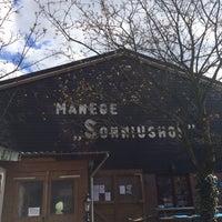 Photo taken at Manege sonniushof by François D. on 4/17/2015