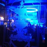 Cleveland Bars Wyndham At House Square Blue Bar