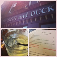 Photo taken at The Dog and Duck by S R. on 3/10/2013