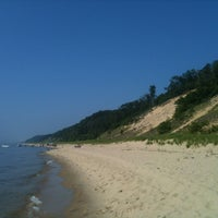 Photo taken at Saugatuck Dunes State Park by Cécé S. on 7/5/2013