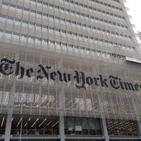 Photo taken at The New York Times Building by aurora on 9/13/2013