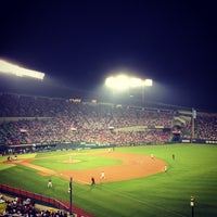Photo taken at Jamsil Baseball Stadium by Taewook H. on 6/5/2013