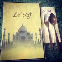 Photo taken at Le Taj Restaurant by Gzul Yusof on 12/9/2014
