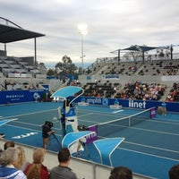 Photo taken at Hobart International Tennis Centre by Felicity D. on 2/3/2013