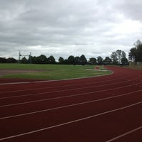Photo taken at Caird Park Athletics Track by Martin R. on 6/30/2013