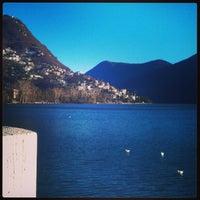 Foto scattata a Lago di Lugano da Andrea M. il 12/28/2012