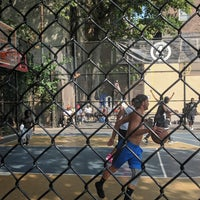 Photo taken at West 4th Street Courts (The Cage) by Andrea M. on 8/15/2018
