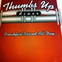Photo taken at Thumbs Up Diner by Justin K. on 12/5/2012