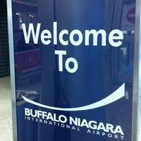 Photo taken at Buffalo Niagara International Airport (BUF) by Stuart T. on 12/13/2012