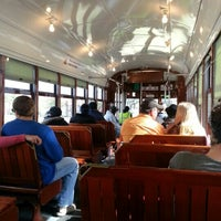 Photo taken at St. Charles Line Streetcar by Amy V. on 1/21/2013