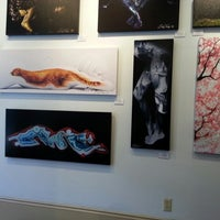 Photo taken at Craig Tracy's PaintedAlive Body Painting Gallery by Amy V. on 1/17/2013