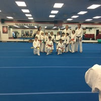 Photo taken at Deaton Karate Studio by Allison M. on 12/20/2012