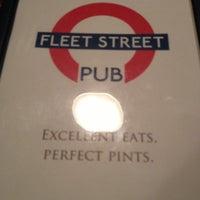 Photo taken at Fleet Street Pub by Allison M. on 10/19/2012