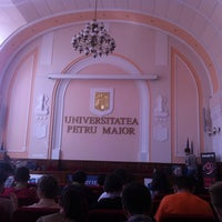 "Photo taken at Universitatea ""Petru Maior"" by Cristina D. on 8/9/2014"