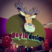 Photo taken at Geyik Design by ✌️Ümit® A. on 4/24/2013