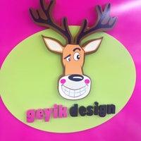 Photo taken at Geyik Design by ✌️Ümit® A. on 4/4/2013