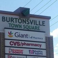 Photo taken at Burtonsville Town Square Shopping Center by Niki S. on 4/2/2013