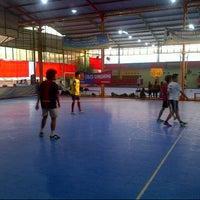Photo taken at Futsal Town by Helmi S. on 1/28/2013