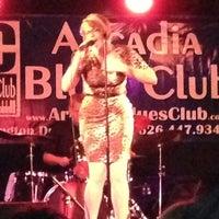 Photo taken at Arcadia Blues Club by Melissa K. on 11/18/2012