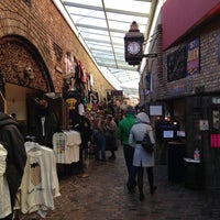 Photo taken at Camden Stables Market by Francisco B. on 12/7/2012