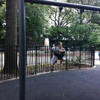 Photo taken at James Michael Levin Playground by Mike F. on 8/4/2013