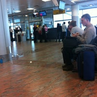 Photo taken at Gate B9 by Mike F. on 11/18/2012