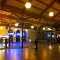 Photo taken at Prague Masaryk Railway Station by Mike F. on 11/13/2012