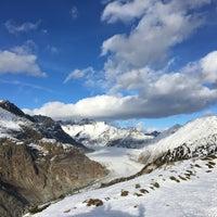 Photo taken at Riederalp by Ali Ç. on 12/26/2016